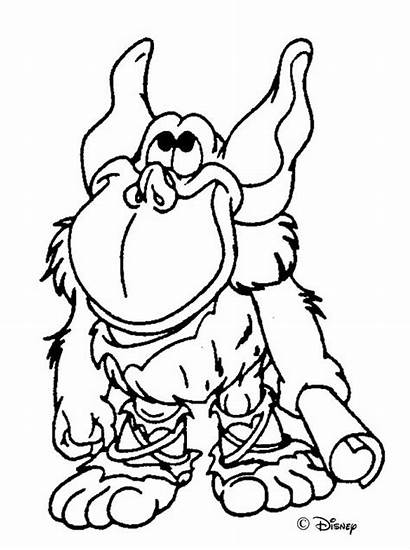Bears Gummi Coloring Pages Disney Bear Cartoon