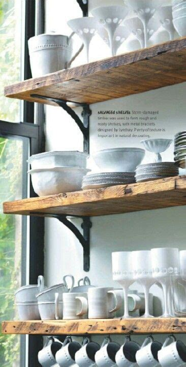 Open shelving, Small kitchens and Barn wood on Pinterest
