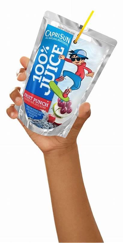 Juice Pouch Clipart Capri Sun Transparent Fruit