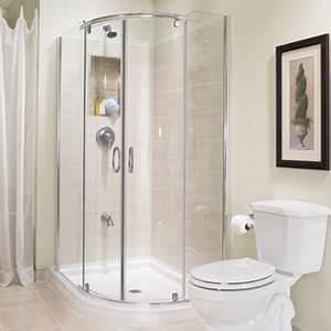 construire une douche en ceramique 1 rona With porte de douche coulissante avec chauffage ceramique mural salle de bain
