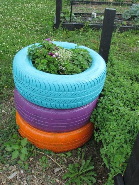 Gartendeko Aus Reifen by Gartendeko Selber Machen Verwenden Sie Alte Autoreifen