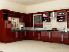 New Design Of Kitchen Cabinet by New Kerala Kitchen Cabinet Styles Designs Arrangements Gallery Wood Design