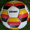 RECREATION Above is a picture of the German soccer team ...