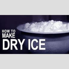 How To Make Dry Ice  With A Fire Extinguisher! Youtube