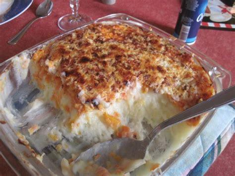 gratin de pomme de terre et carottes