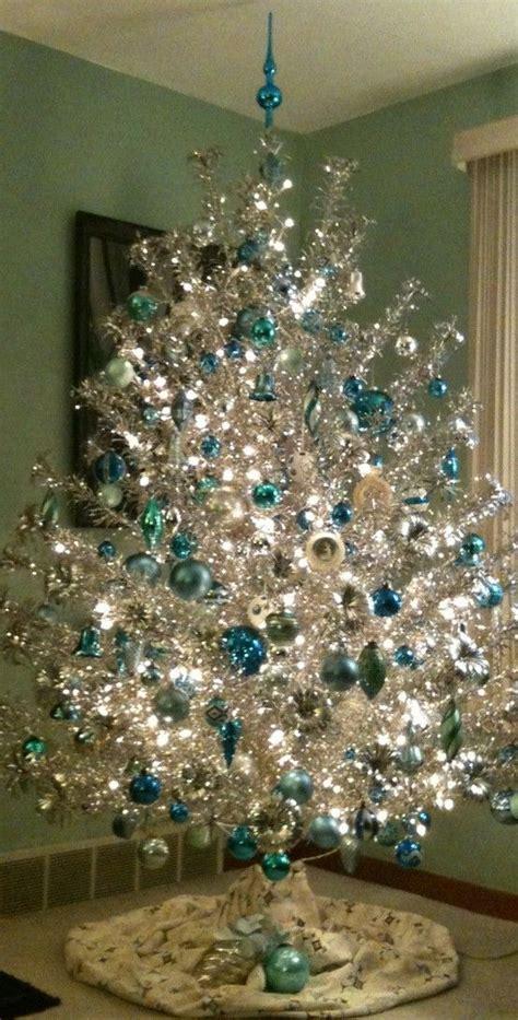 mid century aluminum christmas tree midcentury modern