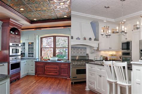 Kitchen Lighting Fixtures Ideas - tin ceiling archives bartelt remodeling