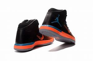 Air Jordan 31 XXX1 Black Orange Blue 2016 Mens Basketball ...