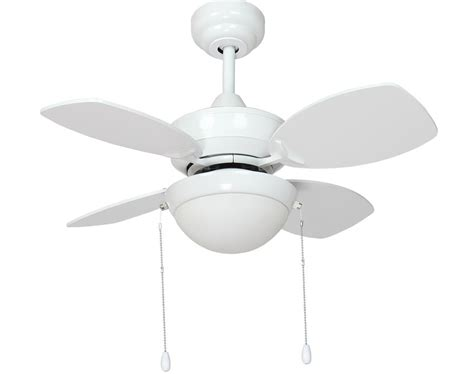 small white ceiling fan fantasia kompact small 28 quot ceiling fan led light gloss