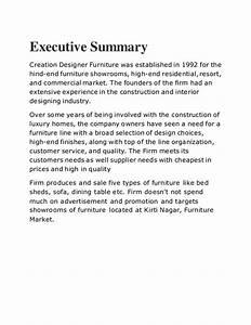Report creation designer operation management furniture