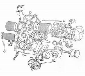 exploded view of a citroen 2 cv engine engines With citroen gsa engine