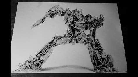 transformers optimus prime pencil drawing youtube