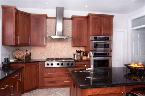 wood shaker cabinetry glass front door woods and