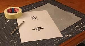 Schablonen Selber Machen Anleitung : shabby chic schablonen so macht ihr sie ganz einfach selbst ~ Lizthompson.info Haus und Dekorationen