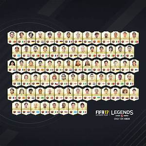 New FUT Legends Added In FIFA 17 EA SPORTS