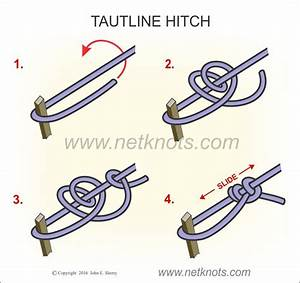 How To Tie A Hold Down Knot