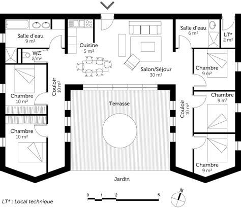 maison 5 chambres plan de maison avec 5 chambres