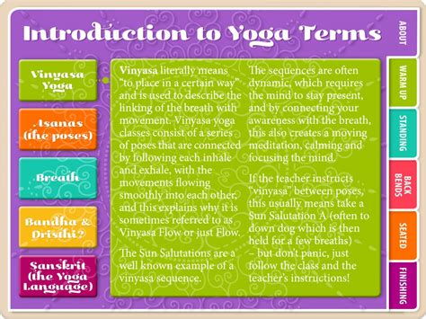 Hatha Vinyasa Yoga For Beginners Yoga Flash Cards Yoga