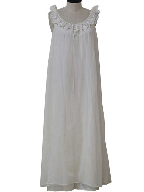 retro  womens lingerie nightgown  shadowline
