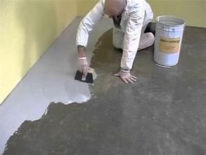 Resine Sol Garage : application de la finition sol en r sine youtube ~ Dode.kayakingforconservation.com Idées de Décoration