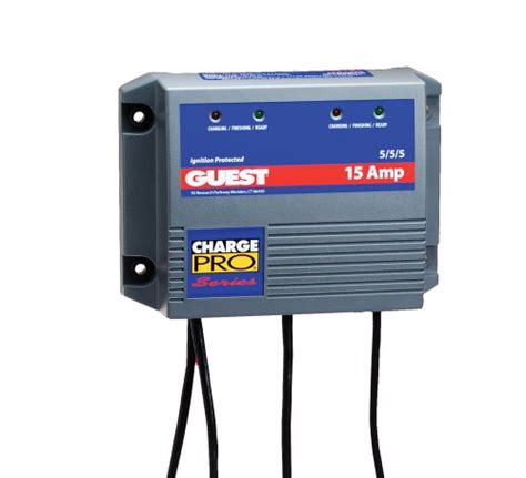 Marine Battery Charger 24 Volt by Guest 2613a Charge Pro Series Marine Battery Charger 12