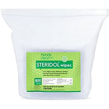 Amazon.com: HandyClean Steridol Surface Cleaning Wipes for