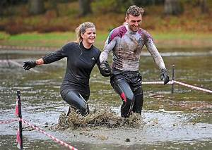 Muddy, Good, Fun, As, Runners, Get, Filthy, At, Shropshire, Mud, Run