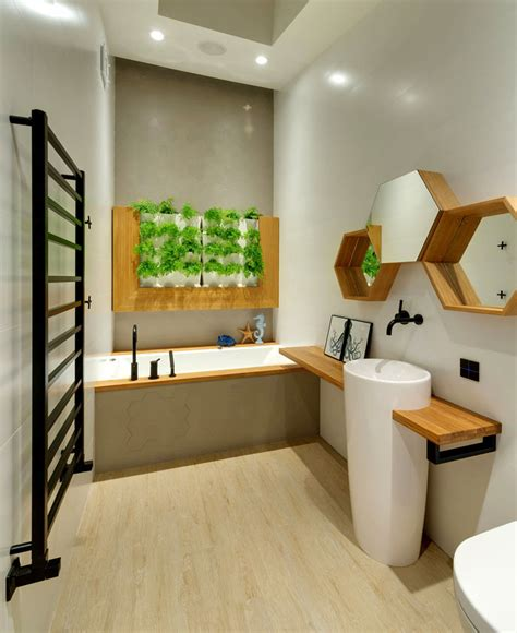 Modern Apartment Bathroom by Best Bathroom Plants To Decorate Your Modern Bath With