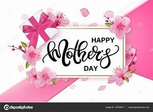 Bandera de vector de feliz día de las madres con flores de ...
