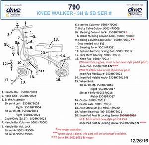Steerable Knee Walker