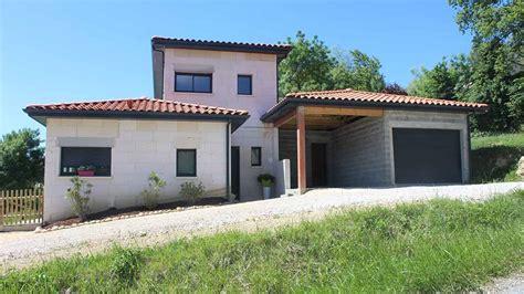 maison moderne terrain en pente plan de maison individuelle sur terrain en pente maison moderne