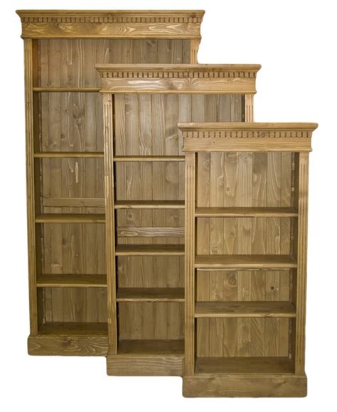 Solid Wood Interiors > Solid Wood Bookcases Solid Oak And