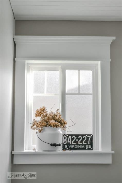 thrifty decor window trim how to frame a window tutorials tips for diy window