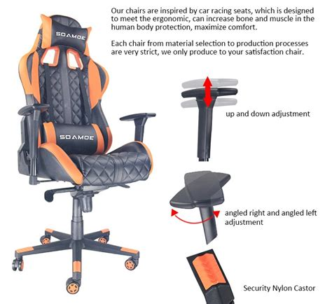 popular comfortable commercial gaming chair gaming