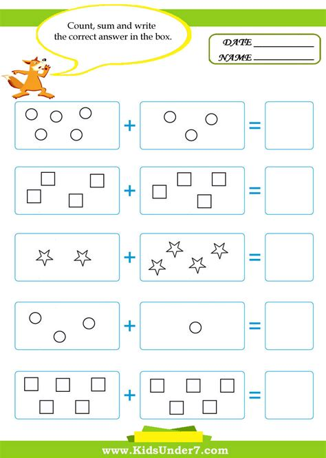 math worksheets  kids chapter  worksheet mogenk