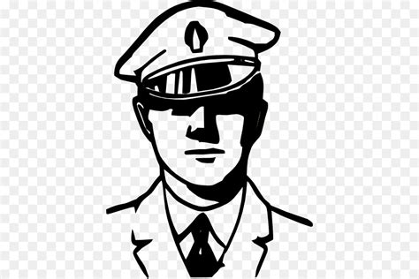 11589 policeman clipart black and white officer black and white car clip