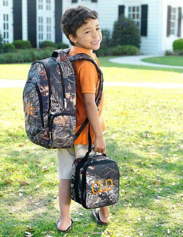 love  woods bookbag set  boys   school  looked  good camo backpack