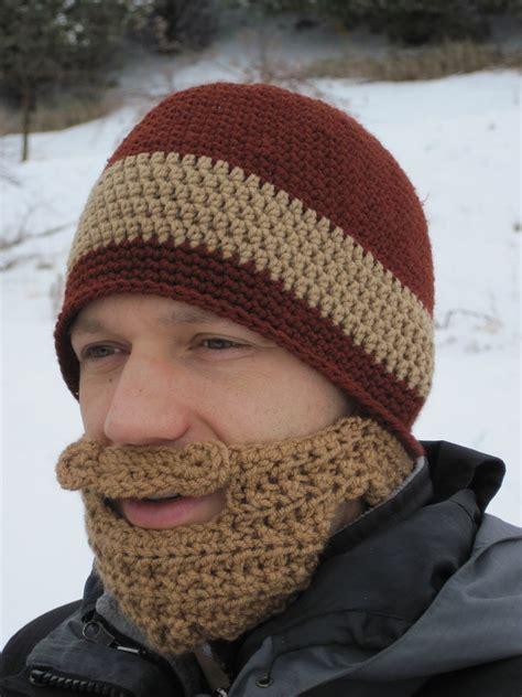 brown beard beanie