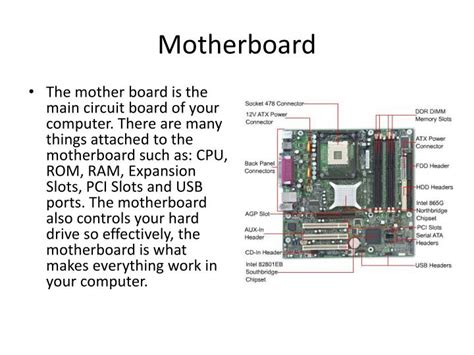 Ppt Computer System Components Powerpoint Presentation