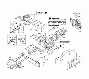 Mcculloch Mac Cat 440  952801823  Chainsaw Chassis  U0026 Enclosures1 Spare Parts Diagram