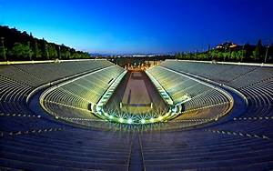 the panathenaic stadium miracle in marble the olympics