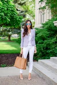 46 façons de porter les jeans blanc femme cette été ...