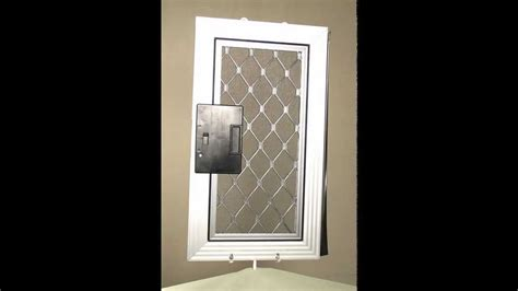 security sliding patio screen door