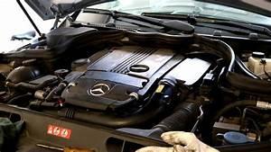 W204 Mercedes Benz C250 Oil Change