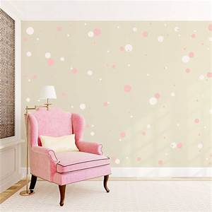 Wall decal the best accent white polka dot wall decals for The best accent white polka dot wall decals