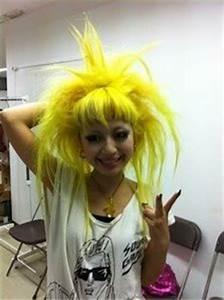 Image Gallery neon yellow hair dye