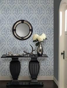 beautiful quelle couleur pour couloir contemporary With sol gris quelle couleur pour les murs 16 papier peint pour couloir comment faire le bon choix