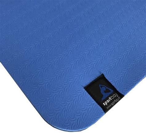 bolcom sportbay eco deluxe fitnessmat yogamat