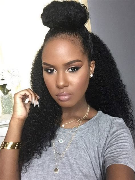Black Half Hairstyles by 8 Gorgeous Ways To Style Naturally Curly Hair Cus