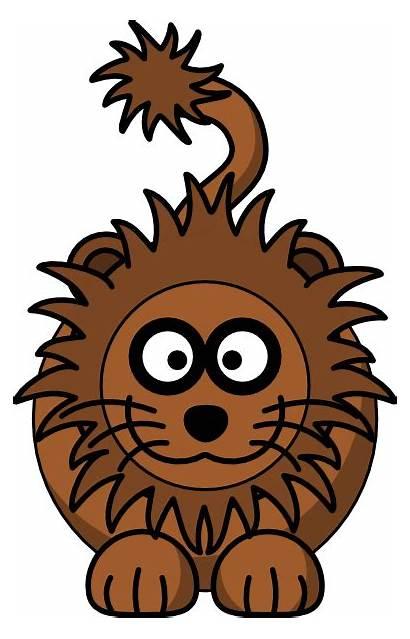 Lion Cartoon Clker Clip Svg Clipart Vector